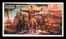 DR JIM STAMPS US KANSAS TERRITORY LIMITED EDITION FDC COVER SCOTT 1061