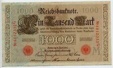 Germany 1910 - Reichsbanknote 1000 Mark series G