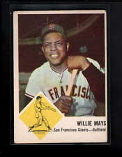 1963 FLEER #5 WILLIE MAYS VG D8741