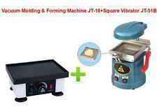 Dental Vacuum Molding&Forming Machine JT-18+Square Vibrator Vibrating JT-51B CE