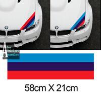 BANDE POUR BMW M3 MOTORSPORT RACING STRIPE AUTOCOLLANT STICKER BD530-2