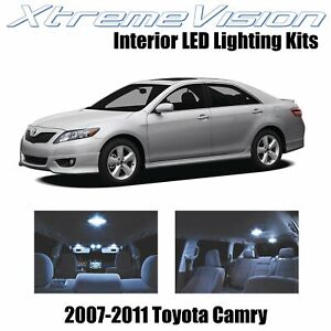 XtremeVision Interior LED for Toyota Camry 2007-2011 (12 PCS) Cool White