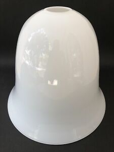 Superbe ancien GRAND ABAT-JOUR en OPALINE pour LAMPE ou LAMPADAIRE MAZDA en TBE