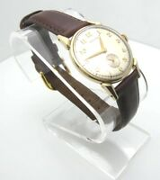 Vintage Hamilton 17 Jewels 10K Gold Filled Analog Hand Wind Watch (A919)