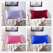 100% Silk Pillowcase 19mm Anti-Aging Pamper Skin&Hair 76x51cm 13 colours
