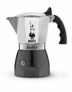 Bialetti Brikka Espressokocher ver. Größen - Top Angebot - NEUSTES MODELL