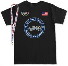 Olympic MARATHON SWIMMING Tokyo 2020 Summer Olympic USA Team T Shirt Tank Top
