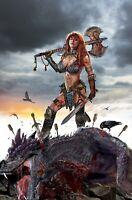 Red Sonja Birth of the She-Devil #1 John Gallagher Virgin Variant NM+ LTD to 500