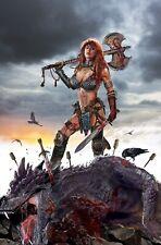 Red Sonja Birth of the She-Devil #1 John Gallagher Virgin Variant NM+ LTD to 500