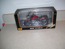 Maisto Die Cast Special Edition BMW R 1100 R 1:10 Motorcycle 1995    1983