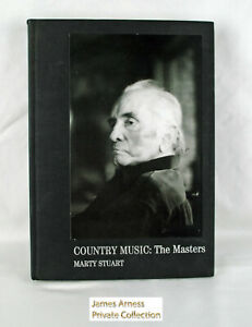 "James Arness Gunsmoke  Marty Stuart ""Country Music The Masters""  Signed"