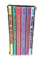 H.G. WELLS Seven Science Fiction Novels Paper Back Box Set (6) missing book 1