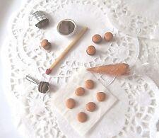 Macarons Fimo 1/12EME maison poupée Doll House vitrine aliment miniature food