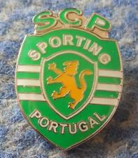 SPORTING LISBOA PORTUGAL FOOTBALL FUSSBALL SOCCER 2000's BIG PIN BADGE