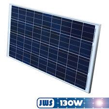 Solarpanel Solarmodul 130Watt 130W 12V 12Volt Solarzelle Solar Polykristallin