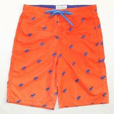 "Abercrombie And Fitch Shorts Men's Orange Size Large Suit Waist 33"" - 34"""