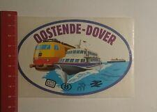 Aufkleber/Sticker: Oostende Dover Db (251116140)