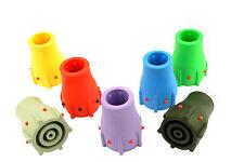 """7x 19mm 3/4"""" Multi Walking Stick Cane Crutch Zimmer Ferrule Wear Indicator L0004"""