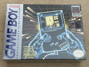 Nintendo Game Boy DMG-01 New Factory Sealed Gray Console Tetris Game Boy 1989