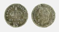 pci6203) Francia Napoleone III (1852-1870) - 20 cent 1867 A - defect