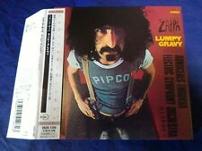Frank Zappa Lumpy Gravy Japan Mini LP CD Obi VACK-1205