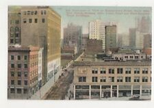 San Francisco View On Montgomery Street 1911 Postcard USA 423a