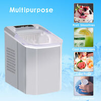 Tabletop Ice Maker 26Lbs/ 24H Portable Compact Design Ice Bullet Home Kitchen