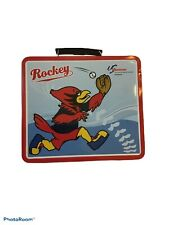 Vintage Memphis Redbirds, Rockey, lunchbox EUC