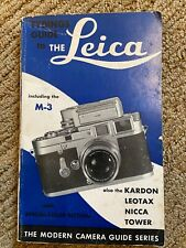 Tydings Guide to the Leica Cameras M3 and others.