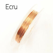 Copper Wire Beading Wire DIY Jewelry Making Cord/String 10 Colors 0.3mmx10m