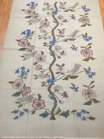 6' x 9' New Chinese Kilim Oriental Rug - Two Sided - Hand Made - 100% Wool