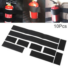 Auto Car Fire Extinguisher Fixing Holder Belt Bracket Sticker Fixing Tape - 10pc
