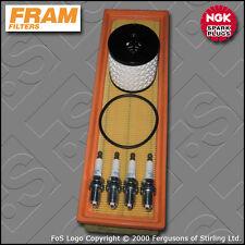 SERVICE KIT CITROEN C2 1.1 8V PETROL FRAM OIL AIR FILTERS PLUGS (2004-2013)