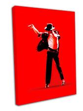 "Michael JACKSON POP ART STAMPA TELA FIRMATO 30 ""X20"""