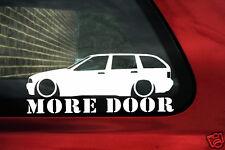 BMW e36 Touring más Puerta Pegatina. para 325 TDS, 318i, 328i
