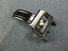 18mm IWC Swiss 316L Stainless Deployment Buckle Folding Clasp for Leather Band