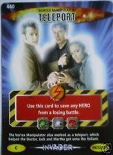 DR WHO INVADER CARD 440 VORTEX MANIPULATOR TELEPORT