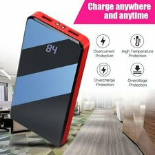 Portable 900000mAh Power Bank Polymer External Battery Backup Charger US