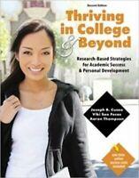 Thriving IN College And Beyond: Forschungsbasierte Strategies Für Akademischer