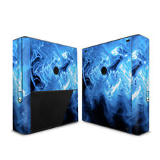 Xbox 360E Console Skin - Blue Quantum Waves - DecalGirl Decal