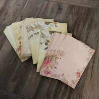 50pcs Retro Writing Paper Vintage Letter Paper Stationery Set Writing Stationery