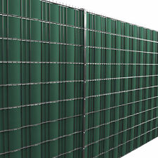 [neu.haus] 35M Screen Fence Foil Green PVC Screen Treble Crotchet Mat Fence