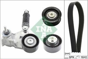 INA 529 0104 10 V-Ribbed Belt Set for FORD,JAGUAR