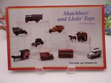 Matchbox and Lledo Toys: Price Guide and Variations List Edward Force