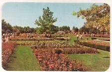 Jackson & Perkins Rose Gardens in Newark, New York Wayne Chrome Postcard Unused