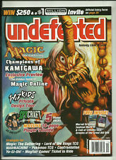 UNDEFEATED MAGAZINE - #8 (RPG's, BOARDGAMES, CCG'S, MINIATURES etc.) 2004
