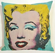 "Decorative pillow Popart PillowCase Holidaydecor Marilyn Monroe 18"" x 18"" $45"