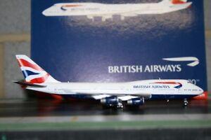 Gemini Jets 1:400 British Airways Boeing 747-400 G-BYGF (GJBAW1792) Model Plane