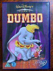 Dumbo DVD 1941 Walt Disney 4th Animación Clásico Familia Película