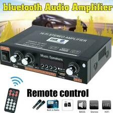 AudioBLUE-600W  2Ch Bluetooth Amplifier Home Stereo EQ FM Radio USB SD-USA
